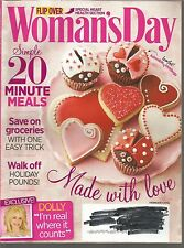 Women's Day February 2015 Flip Over Issue/Heart Health/Save on Groceries/Dolly