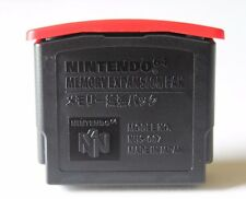 OEM Nintendo 64 Expansion Pack Pak System Memory Authentic Genuine Official Red
