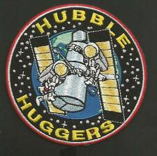 "HUBBLE HUGGERS NASA SPACE  PATCH  3 7/8  ""  NON IRON"