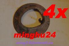 4 Stück Schlauch f. Luftrad Sackkarre 260 x 85mm 3.00-4 Rad Bollerwagen 90/90 SA