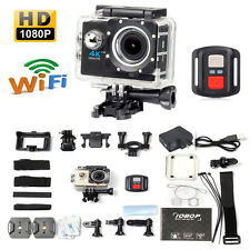 4K WIFI Waterproof Sport Action Camera 16MP HD 1080P DV Camcorder Remote Control