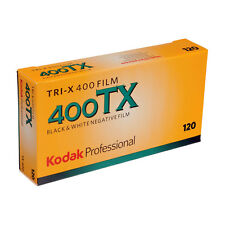 5 PACK NEW Kodak Professional TRI-X 400 TX - 120 Roll - Black & White Print Film