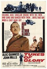 TUNES OF GLORY Movie POSTER 27x40 Alec Guinness John Mills Dennis Price Kay