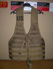 GENUINE USMC FIGHTING LOAD FLC MOLLE II VEST MARPAT COYOTE BROWN BRAND NEW !! #2