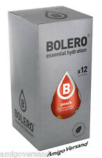Bolero DRINKS - Peach (Pfirsich) - 12 Beutel Getränkepulver für 18 Liter
