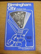 26/09/1970 Birmingham City v Charlton Athletic (pliegue luz, débil Trus veces).