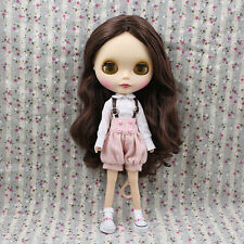 "New Arrival 12"" Neo Nude  Brown Hair Matte Face Blythe doll From Factory  J93001"
