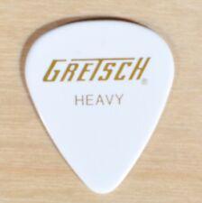 GRETSCH 351 WHITE HEAVY GUITAR PICKS 144 PICKS (1-GROSS)
