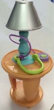 Fisher Price Loving Family Lamp Side Table Headphones Living or Kids Room