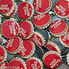 Soda pop bottle caps Lot of 25 DOUBLE COLA plastic lined unused new old stock