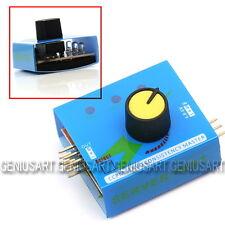 Servo Tester 3 Modi ECS Consistency Speed Controler Power Channels CCPM Meter IT