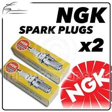 2x NGK SPARK PLUGS Part Number BKR7E Stock No. 6097 New Genuine NGK SPARKPLUGS
