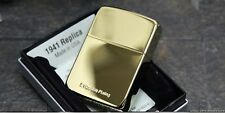 Zippo1941 Replica Titanium plating Gold Lighter Made in USA GENUINE ORIGINAL