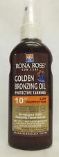 Rona Ross Golden Bronzing Oil Protective Tanning SPF 10 (160ml)  EXPRESS P&P