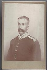 Cabinet Card US Soldier from Chatauqua NY