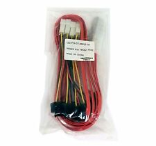NEW LSI MiniSAS SFF-8087 to 4 SFF-8482 1M 07-00021-01 Molex 74562-7500 SAS CABLE