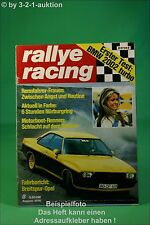Rallye Racing 8/74 BMW 2002 Turbo Opel Kadett SR