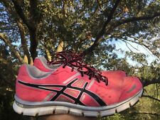 ASICS Hot Pink GEL-BLUR33 Running Walking Athletic Sneakers Womens Shoes Sz 10