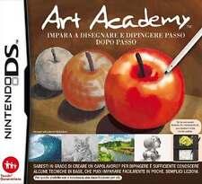 Art Academy - Impara a Disegnare e Dipingere Passo dopo Passo DS USATO ITA