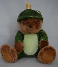 Prince Charming Plush Bear in Frog Costume NWT Crown Amscan