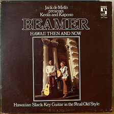 KEOLA & KAPONO BEAMER: Hawaii Then and Now-NM1974LP HAWAIIAN SLACK KEY GUITAR