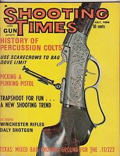 SHOOTING TIMES MAGAZINE~ July, 1968-Percussion Colts,Winchester Rifles.