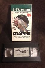 Crappie Fishing Tactics & Strategies- VHS Video Tape -Jigs & Rigs - Lake Tactics