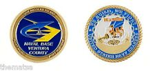 NAVY NAVAL BASE VENTURA PORT HUENEME POINT MUGU SEABEES CHALLENGE COIN