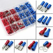 360Pcs Insulated Butt Spade Ring Bullet Crimp Terminal Wire Connector Assortment