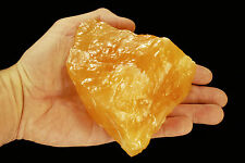 "Orange Calcite 4""-6"" 1 Lb 6 Oz Healing Crystals and Stones Sacral Chakra Reiki"