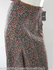 NEXT WOMAN'S SKIRT UK 6 WITH BROWN BELT RRP £36.00 BNWT