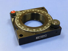 """Newport RSA-2T Rotation Stage / Rotary Mount for 2"""" Optics"""