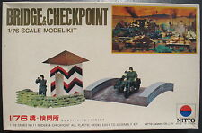 NITTO 451-250 - Bridge (Brücke) & Checkpoint - 1:76 - Modellbausatz Model Kit
