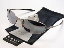 OAKLEY A WIRE LIGHT BLACK SONNENBRILLE SQUARE WHISKER CONDUCTOR TAPER TAILHOOK C