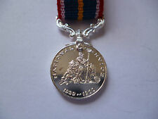 MINIATURE NATIONAL SERVICE MEDAL.