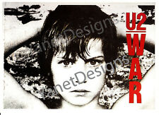 U2 Postcard War Bono Original Issue Collectable 4x6 1983