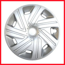 "14"" Wheel trims for Nissan Micra K12 2002 - 2010 silver full set 4 x 14''"