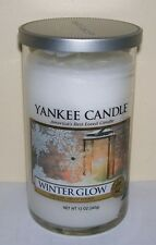 YANKEE CANDLE WINTER GLOW MEDIUM PERFECT PILLAR CANDLE FRESH WINTER SCENT!