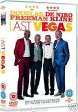 Last Vegas DVD Michael Douglas Robert De Niro Morgan Freeman New UK Release R2