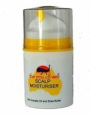 Natural Hair Loss Treatment - Intense Scalp Moisturiser 50ml with Emu Oil