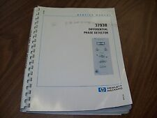 HP 3793B Differential Phase Detector Service Manual.