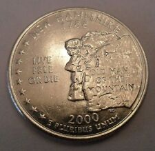 2000 D New Hampshire State Quarter  **FREE SHIPPING**