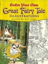 Dover Art Coloring Book Ser.: Color Your Own Great Fairy Tale Illustrations...