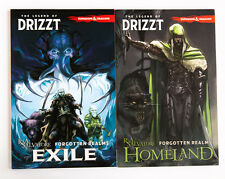 Forgotten Realms Legend of Drizzt Exile and Homeland Graphic Novel Comic Book