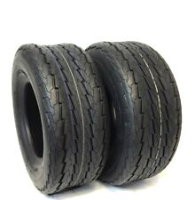 TWO (2) 16.5x6.5-8 16.5x6.50-8 LRC 6PR Tbls HiWay Speed Boat Trailer Tires  NEW