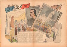 France Grand Palais Paris Salon des Beaux-Arts 1938 ILLUSTRATION