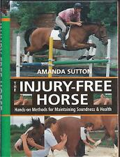 The Injury-Free Horse: Hands-on Methods for Maintaining Soundness and Health NEW