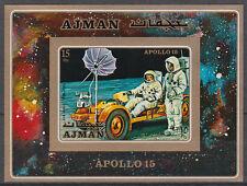 Ajman 1971 ** bl.279 B spatiale space missile rocket astronaute Apollo 15
