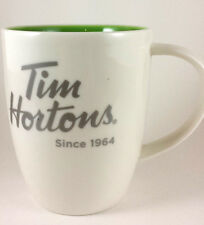 Tim Hortons Cup Mug 2014 Green Inside Limited Edition