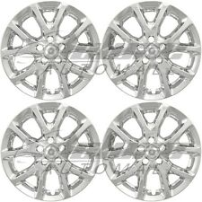 "17"" Chrome Wheel Skins / Hubcaps FOR 2014 2015 2016 2017 Jeep Cherokee Latitude"